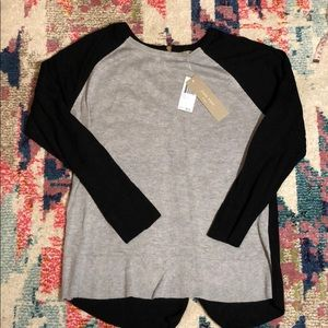 Joan Vass Sweaters - Back Zip Sweater